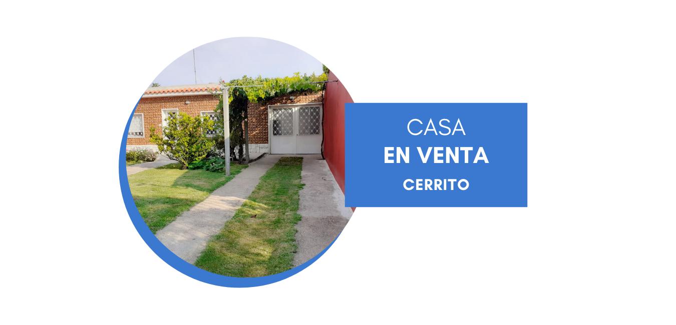Venta Casa en Cerrito de la Victoria.