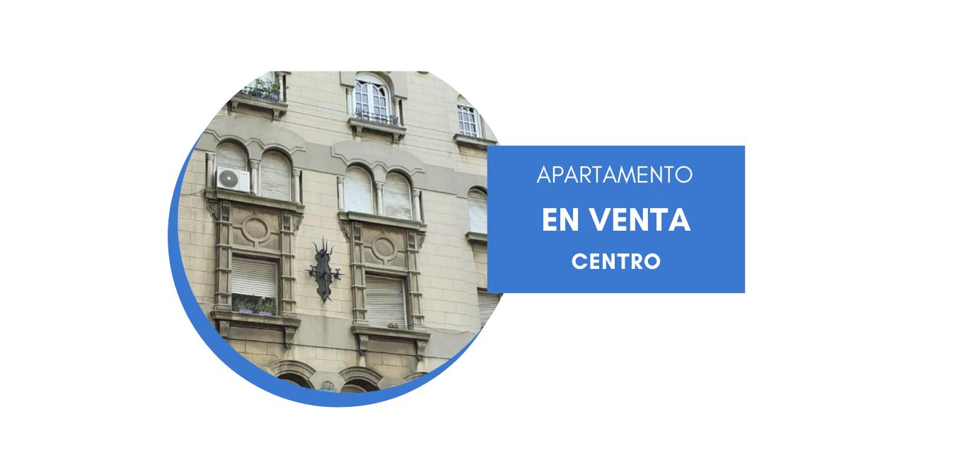 Venta apartamento de tres dormitorios, en Centro