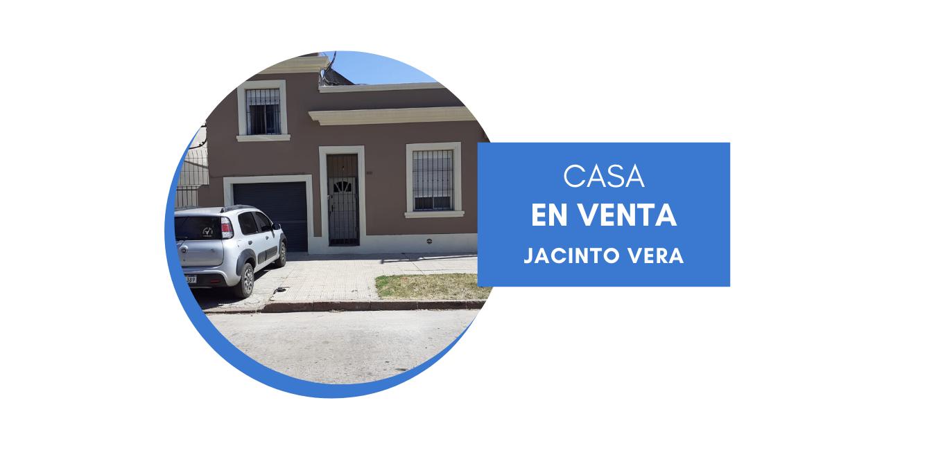 Venta casa en Jacinto Vera, dos dormitorios