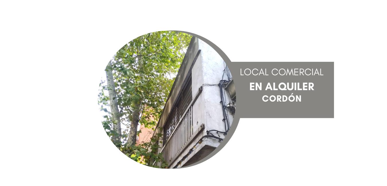 Alquiler local en Cordón