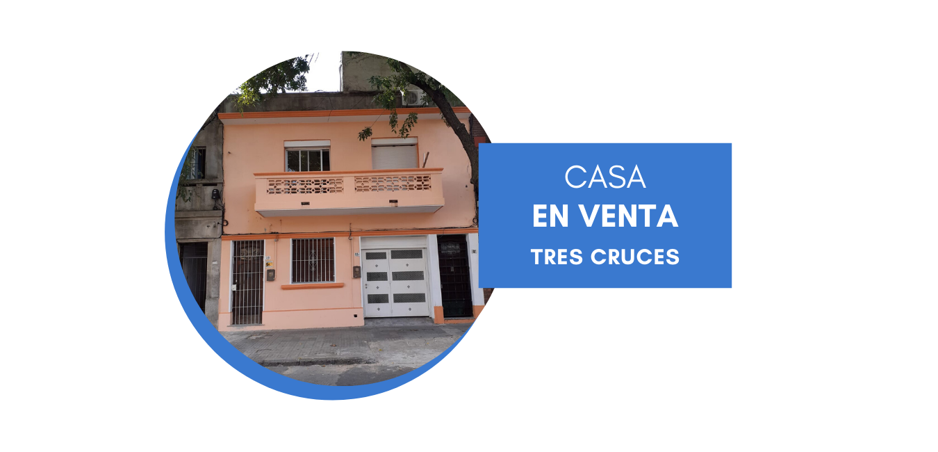 Venta Casa, dos dormitorios, Tres Cruces