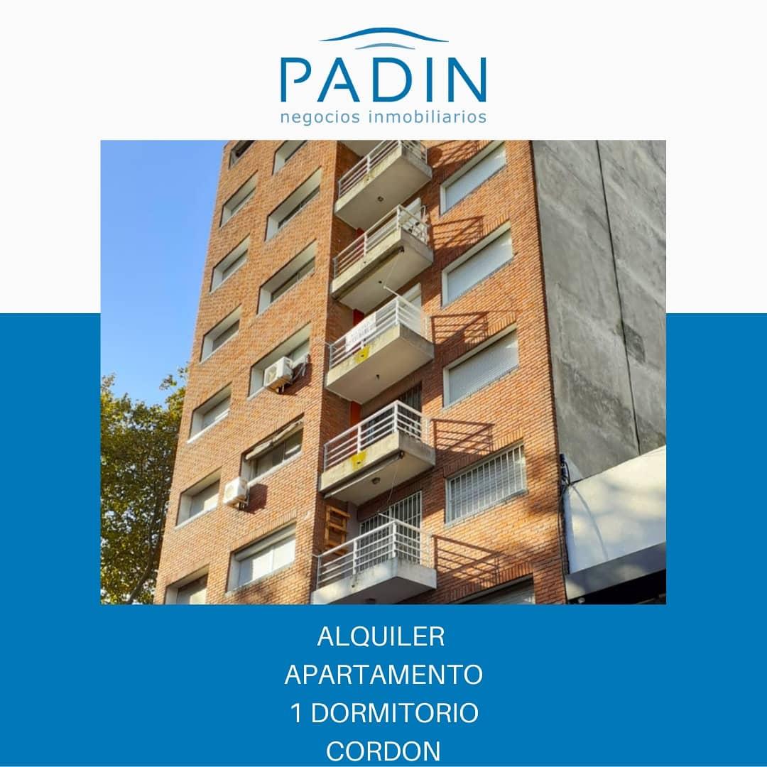 SEÑADO – Alquiler apartamento de 1 dormitorio en Cordón.