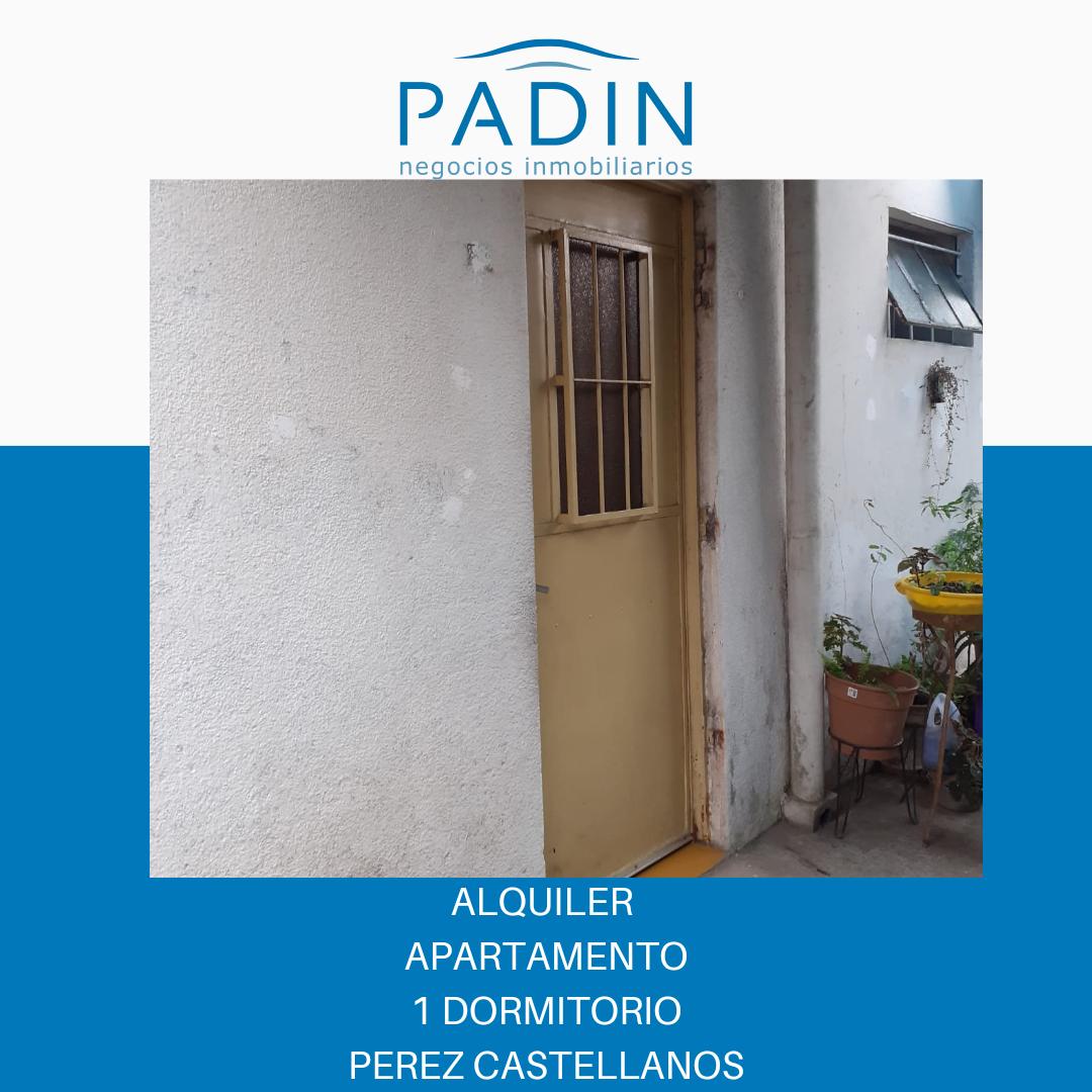 Alquiler apartamento de 1 dormitorio en Pérez Castellanos.