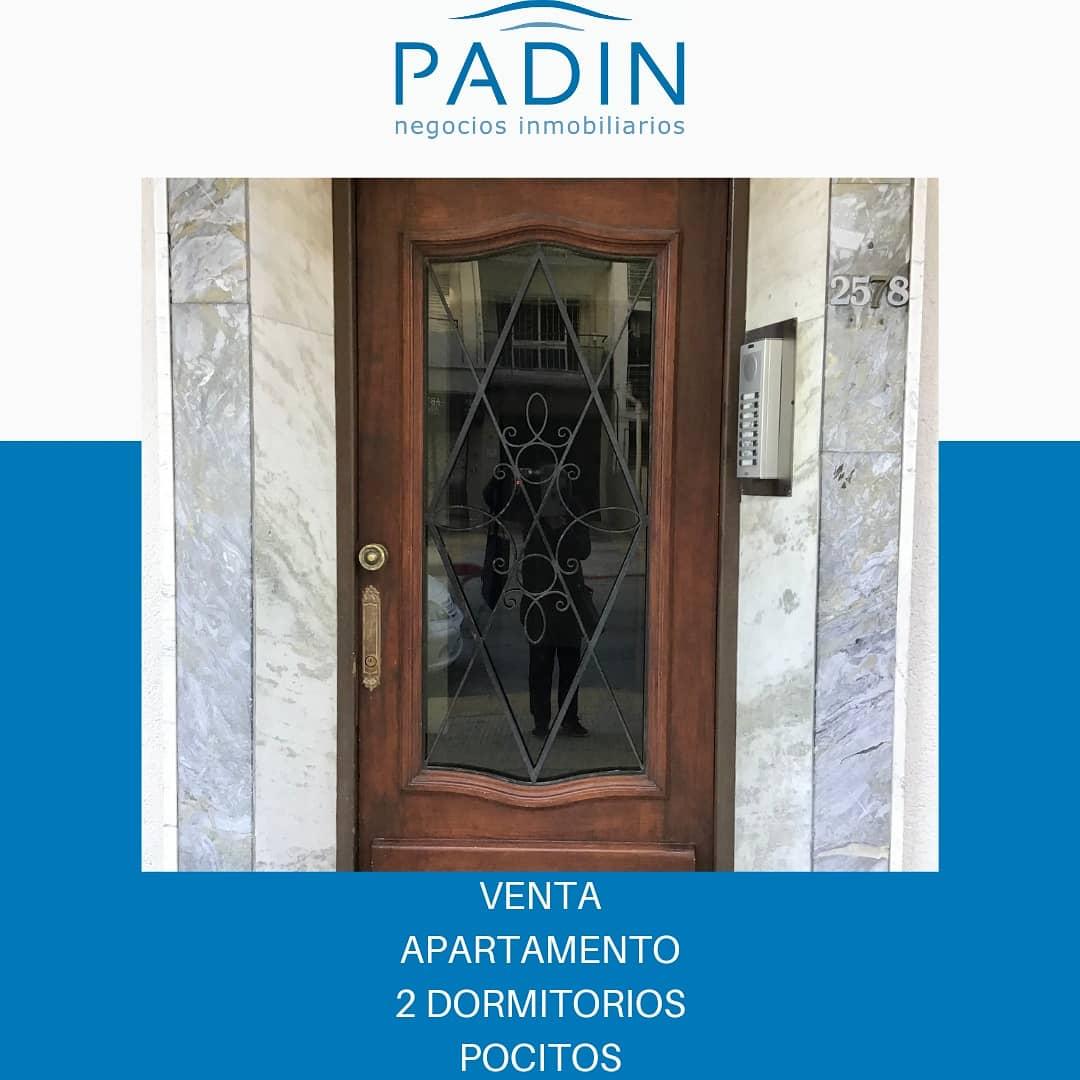 Venta apartamento de 2 dormitorios en barrio Pocitos.
