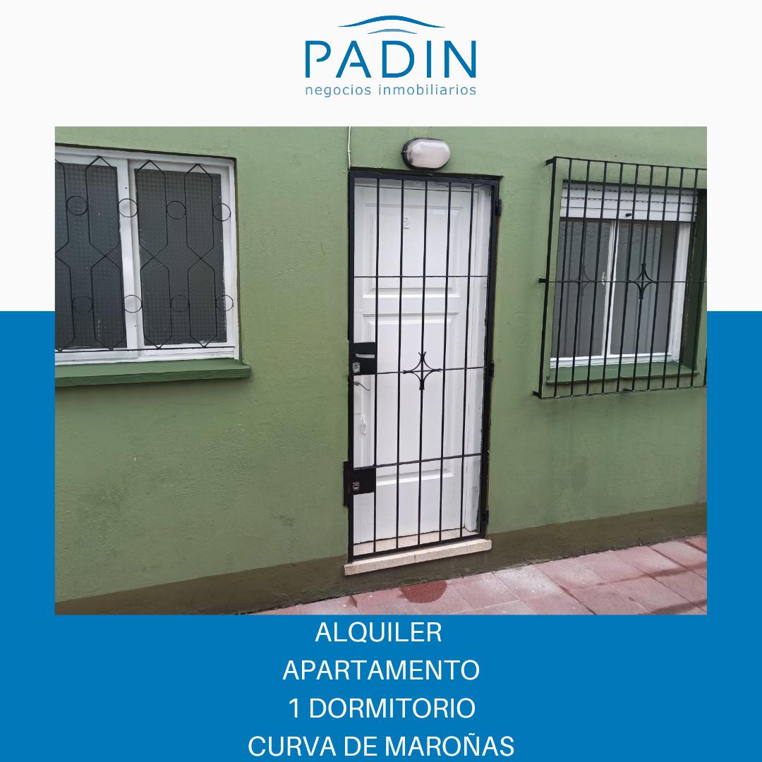 Alquiler apartamento de 1 dormitorio en barrio Curva de Maroñas.
