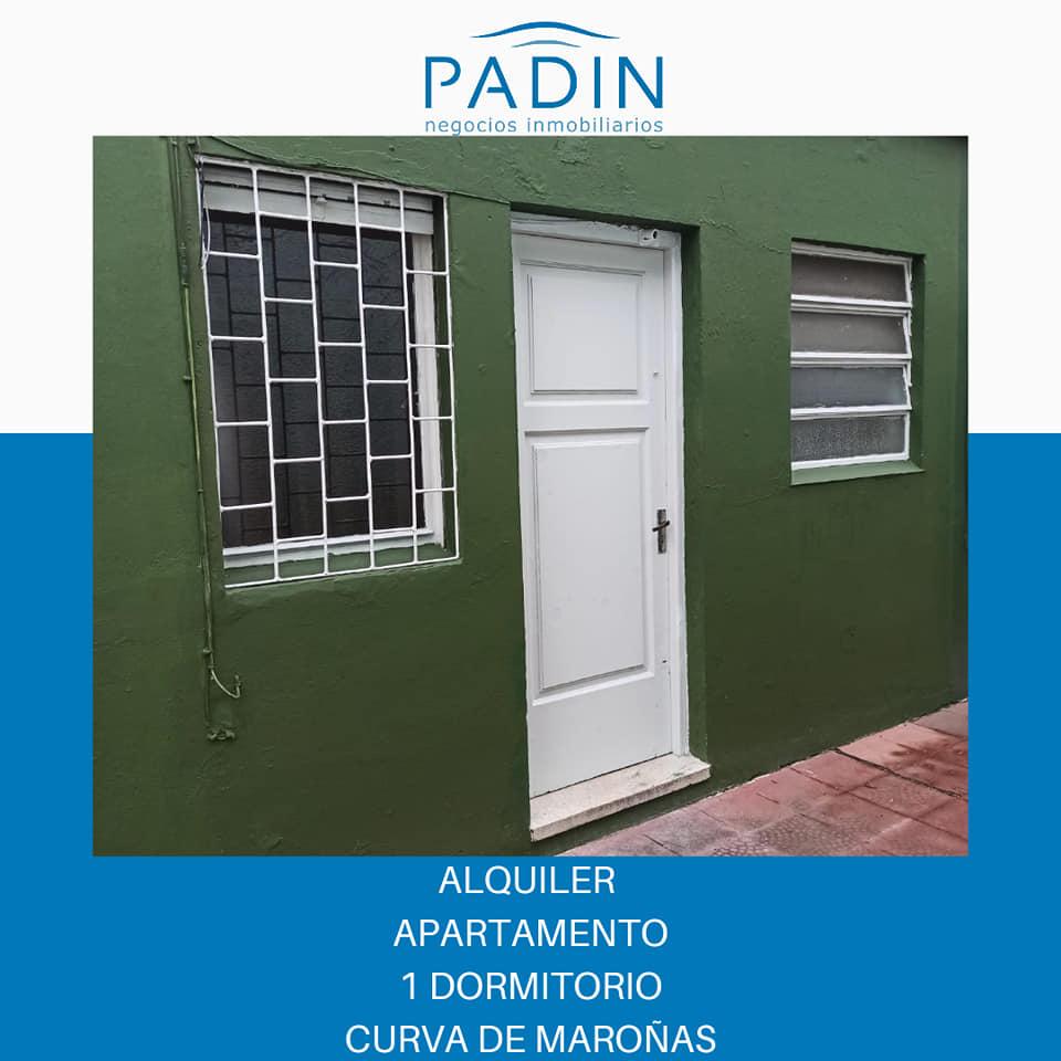 SEÑADO – Alquiler apartamento de 1 dormitorio en barrio Curva de Maroñas.