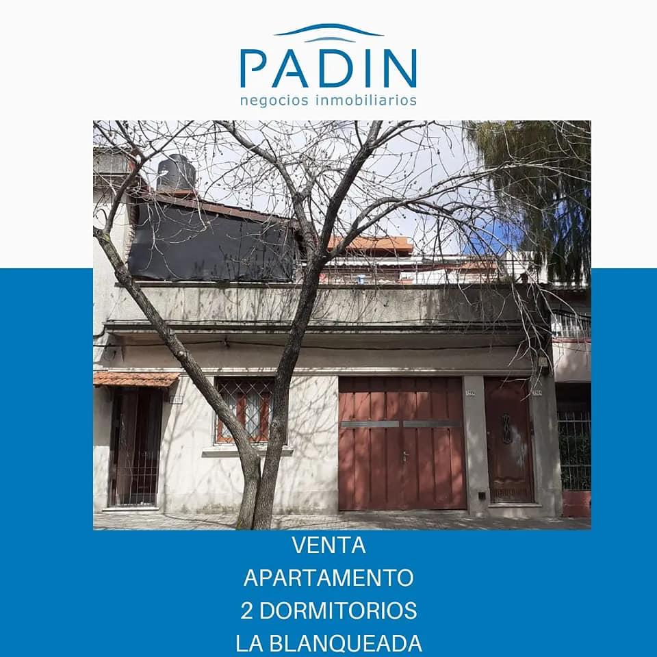 Venta de apartamento con 2 dormitorios en La Blanqueada.