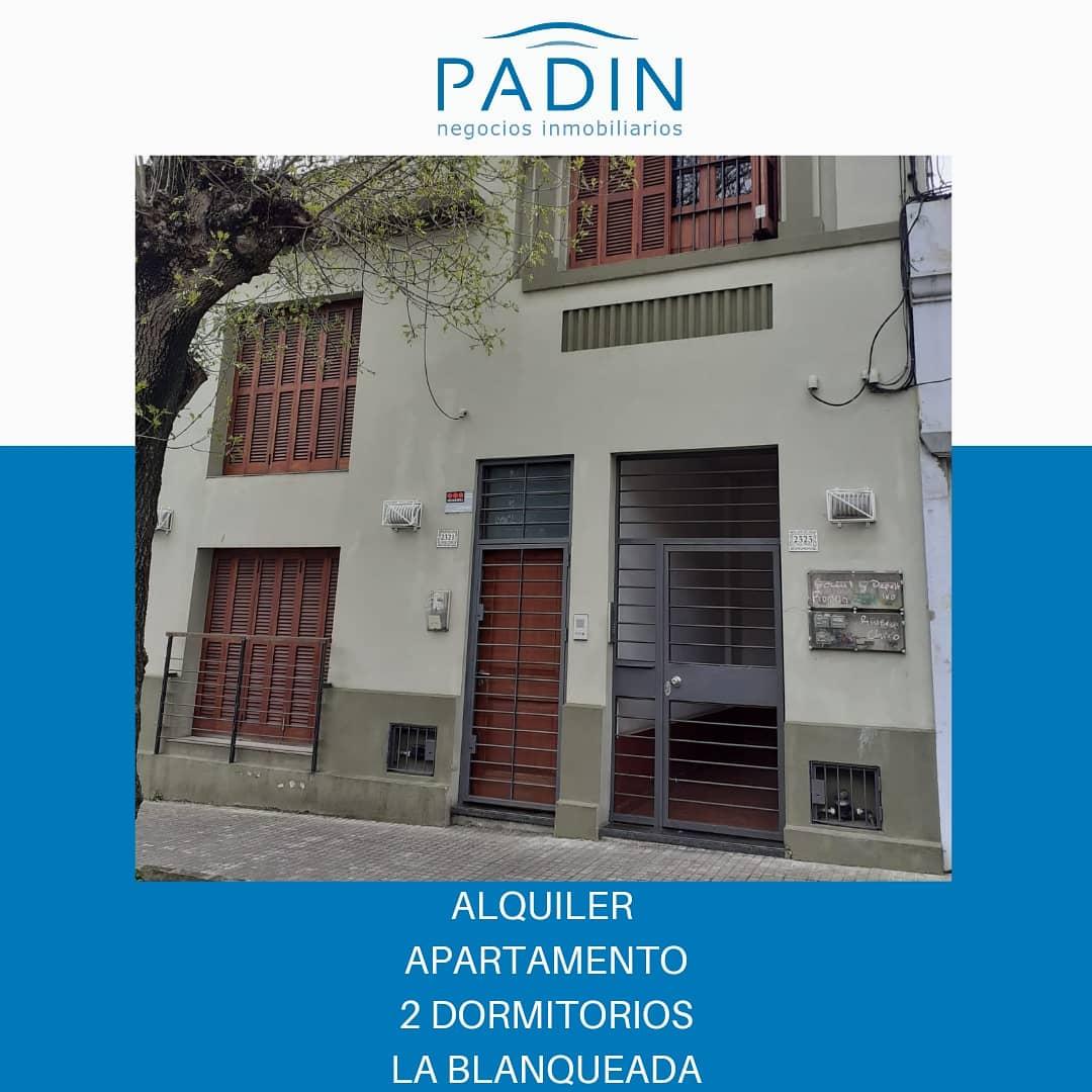 Alquiler apartamento de 2 dormitorios en La Blanqueada.
