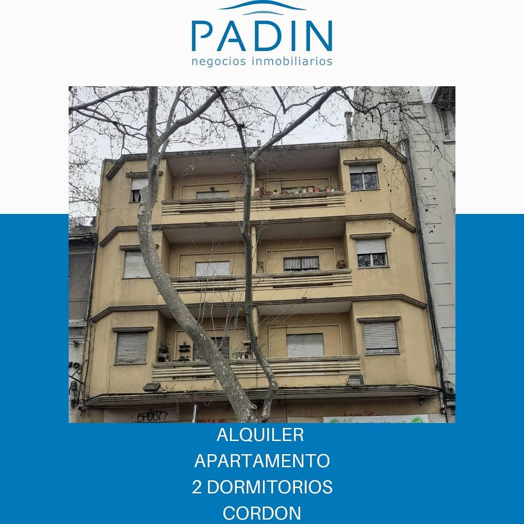 Alquiler apartamento de 2 dormitorios en Cordón.
