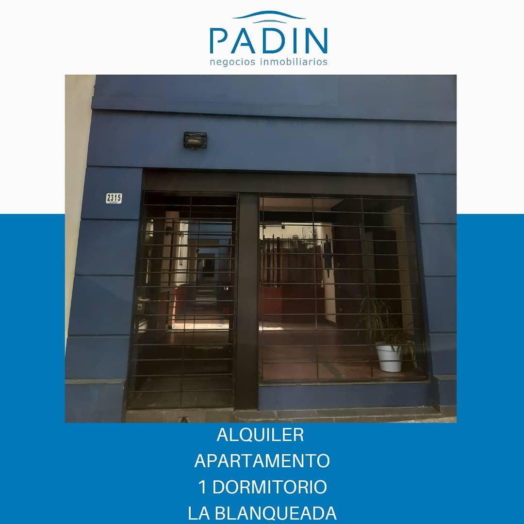 Alquiler apartamento de 1 dormitorio en La Blanqueada.