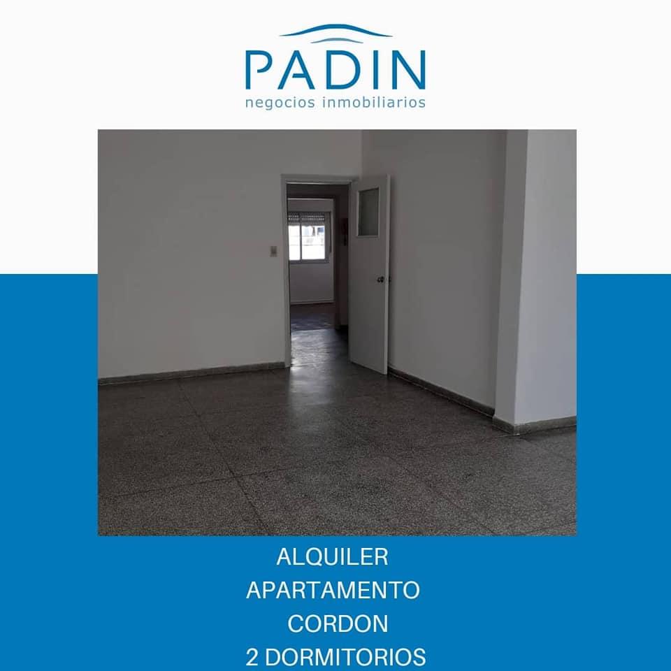 Alquiler apartamento de 2 dormitorios en barrio Cordón